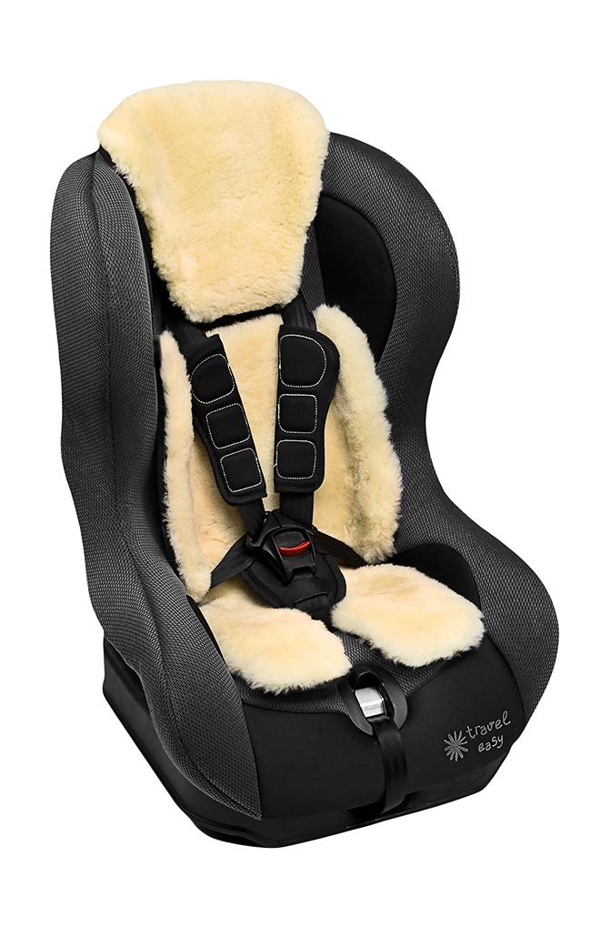Lammfelleinlage für Kindersitze Grp 0-1