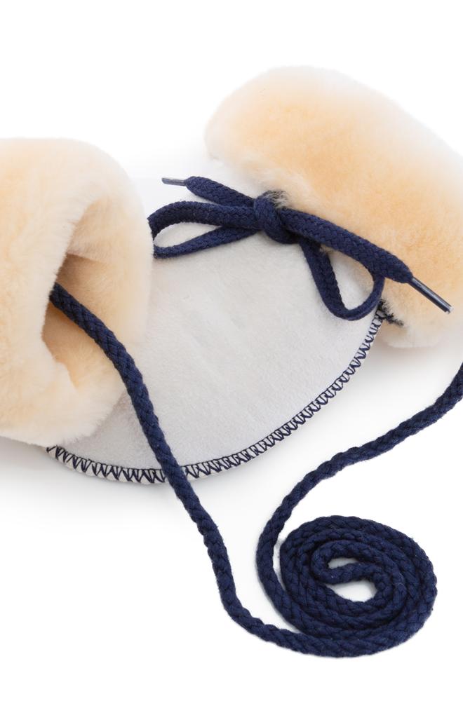 Baby-Lammfellfäustlinge